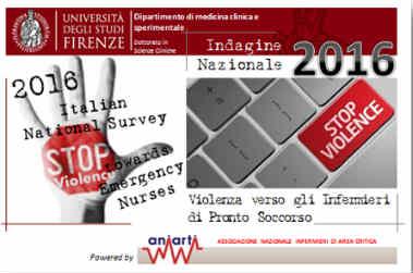 Violenza contro Infermieri Pronto Soccorso: indagine nazionale