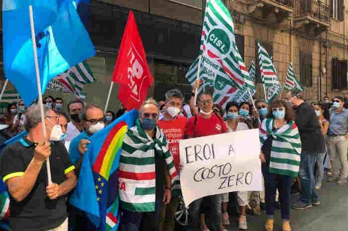 Sanità Privata, lo sciopero dei lavoratori per il contratto