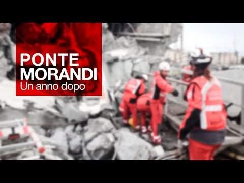 Morandi. Il reportage della Croce Rossa Italiana un anno dopo