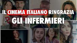 Il cinema italiano ringrazia gli infermieri