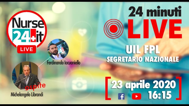 24 minuti Live - Michelangelo Librandi UIL FPL 23 aprile 2020