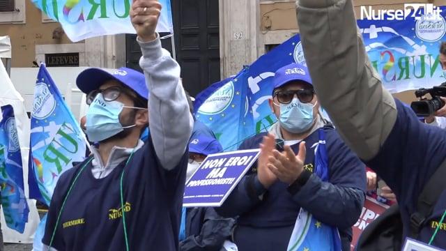 Nursind: vogliamo atti concreti che valorizzino il lavoro degli infermieri