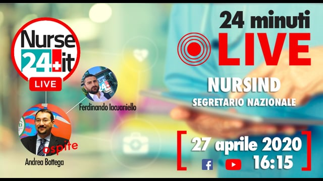 24 minuti Live - Nursind 27 aprile 2020