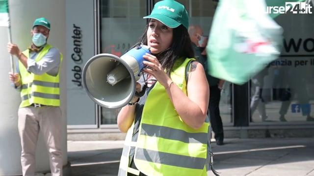 Fials Milano in piazza per dare voce ai lavoratori della sanità