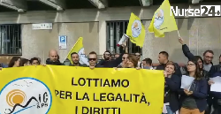 Federico II Napoli, mobilità negata. Sit-in davanti al Policlinico