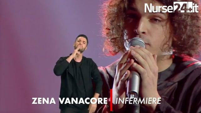 Zena Vanacore, l'infermiere protagonista a Sanremo LIS