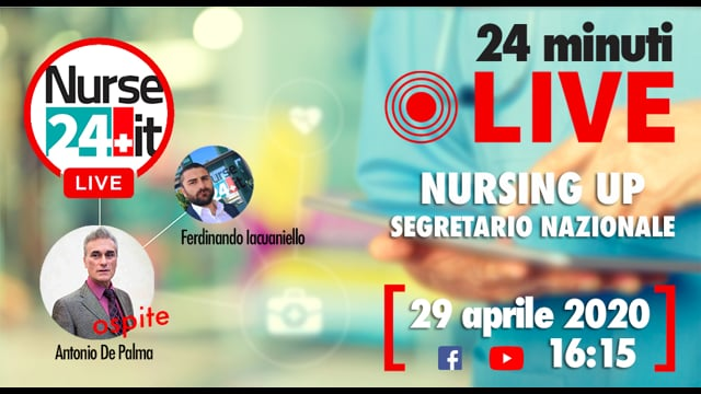 24 minuti Live - Nursing UP 29 aprile 2020