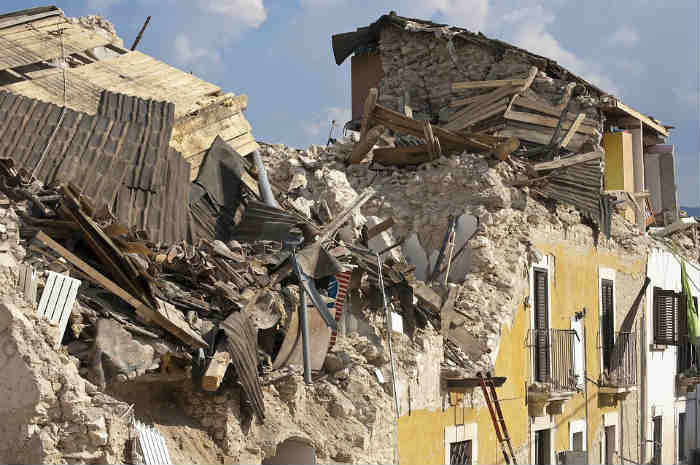 macerie terremoto