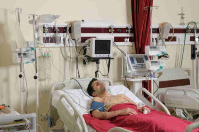 paziente ricoverato in ospedale