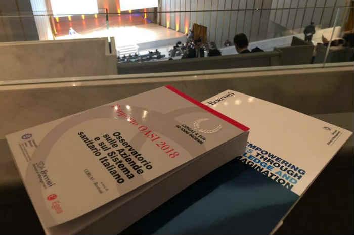 Rapporto Oasi 2018, al Ssn servono 10 milioni di euro