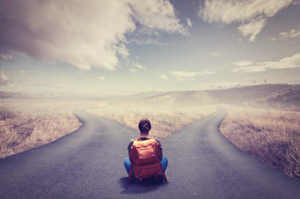 Il bivio e quella strada che sceglierei ancora e ancora