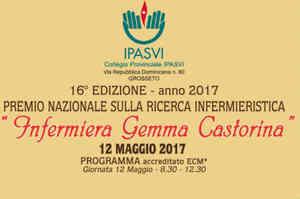 Premio Gemma Castorina 2017 per la ricerca infermieristica