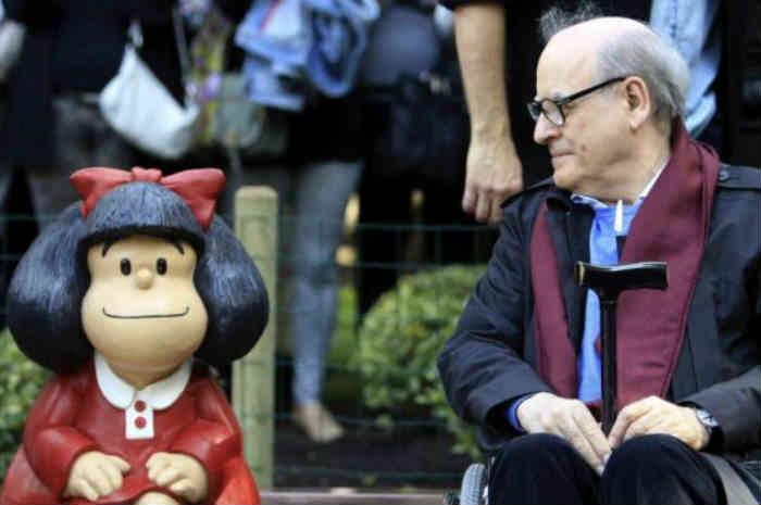 Un saluto a Quino, il papà di Mafalda