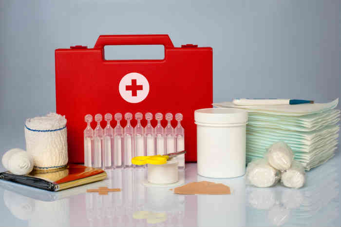 kit medicazioni