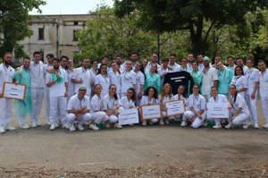 Giornata dell'infermiere, il flashmob degli studenti