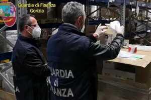 Maxi sequestro mascherine pericolose per il personale sanitario