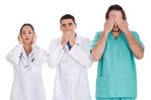 Tra oss e infermiere non mettere il dito