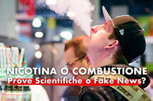 Nicotina o combustione, tra prove scientifiche e fake news