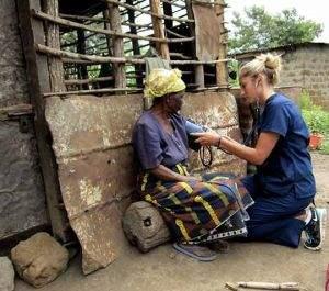 infermiera in africa