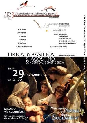 Lirica in Basilica per sconfiggere la Distrofia
