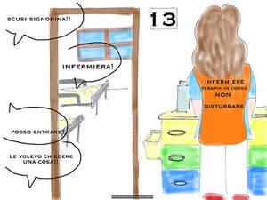 Non disturbare l'infermiera InK durante la terapia