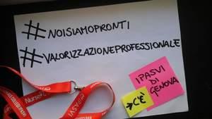 Ipasvi di Genova: #noisiamopronti #valorizzazioneprofessionale al...