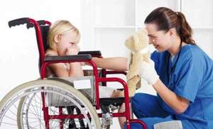 Quei bambini disabili psichici e l'assistenza indispensabile degli Oss