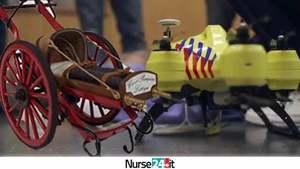 Dai carri di legno ai droni ambulanza